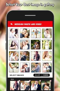 Wedding Photo Video Transition screenshot 6