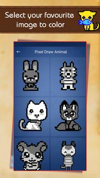 Color by Number: Pixel Draw Animal screenshot 1