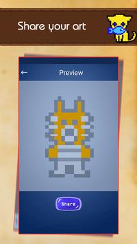 Color by Number: Pixel Draw Animal screenshot 3
