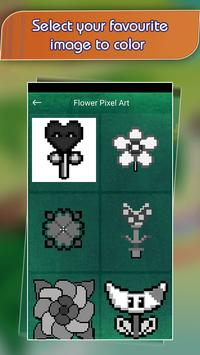 Flower Pixel Art - Draw Fower by Number screenshot 1