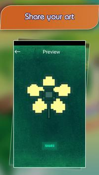 Flower Pixel Art - Draw Fower by Number screenshot 3
