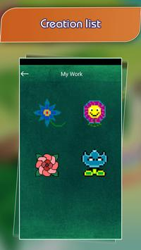 Flower Pixel Art - Draw Fower by Number screenshot 4