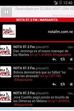 NOTA 97.3 FM poster