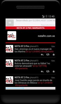 NOTA 97.3 FM screenshot 1