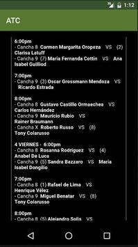 ATC Tenis poster