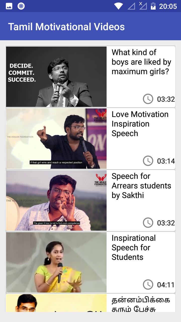Tamil Motivational Videos for Android - APK Download