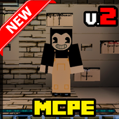 Map Bendy and the Horror Machine - 2 for MCPE icon