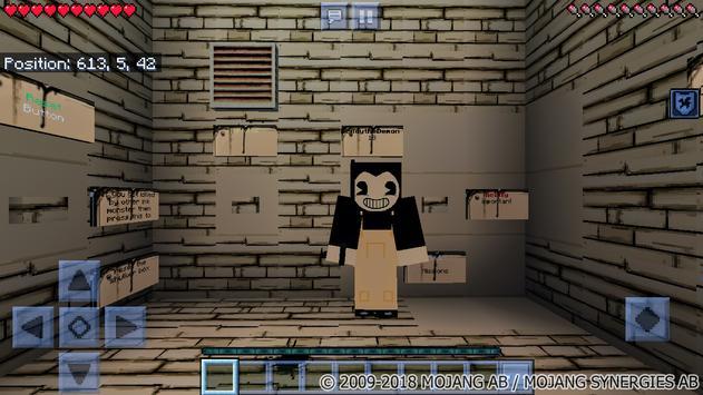 Map Bendy and the Horror Machine - 2 for MCPE screenshot 8