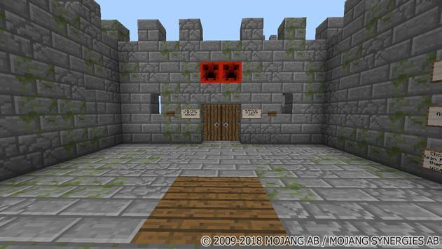 Royal Throne Grab. MCPE map poster