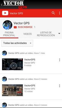 VectorGPS screenshot 2