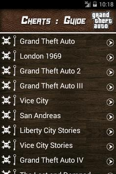 Guide for Grand Theft Auto poster
