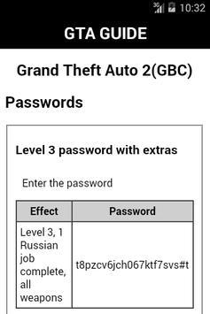 Guide for Grand Theft Auto apk screenshot