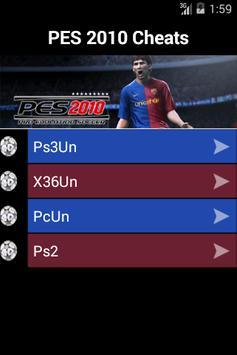 Guide for Pro Evolution Soccer apk screenshot