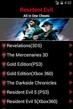 Guide for Resident Evil poster
