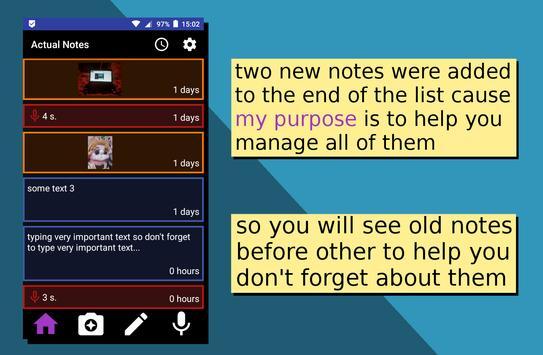 Actual Notes screenshot 4