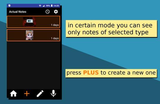 Actual Notes screenshot 1