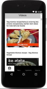 Veg Momos recipe Guide screenshot 2