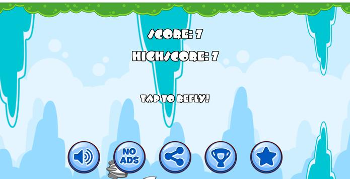 Flappy Airship! screenshot 1