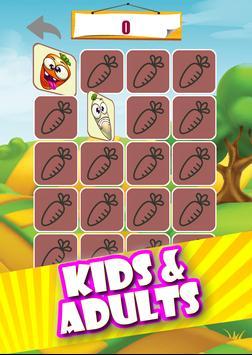 Memory game - Vegetables imagem de tela 13