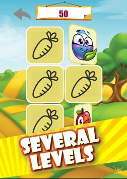 Memory game - Vegetables imagem de tela 18