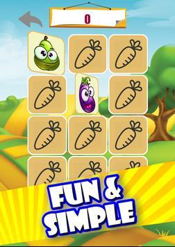 Memory game - Vegetables imagem de tela 20