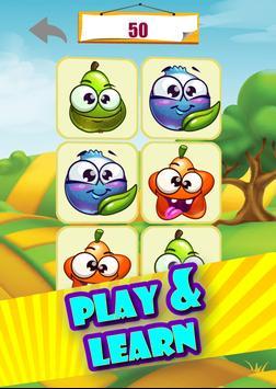 Memory game - Vegetables imagem de tela 2