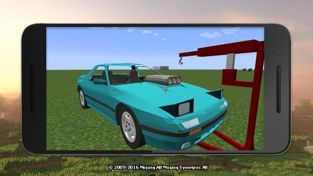 Mod cars for Minecraft screenshot 14