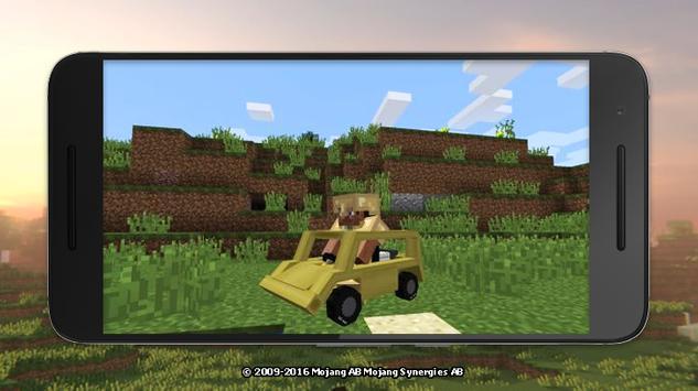 Mod cars for Minecraft screenshot 2
