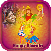 Happy Navratri - Navratri photo Frame icon