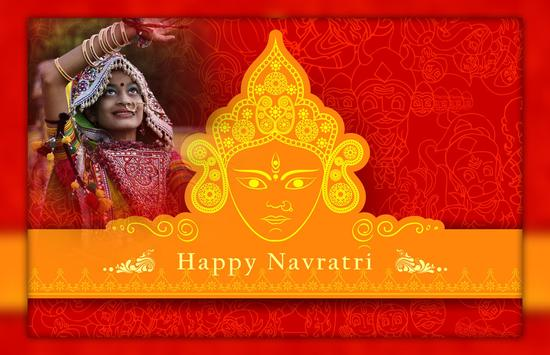 Happy Navratri - Navratri photo Frame screenshot 1