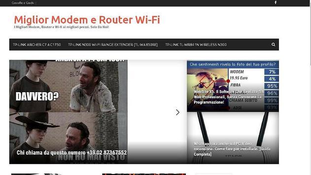 Miglior Modem e Wi-Fi apk screenshot