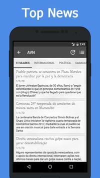 News Venezuela screenshot 2