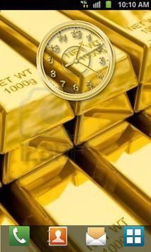 Gold Clock apk screenshot