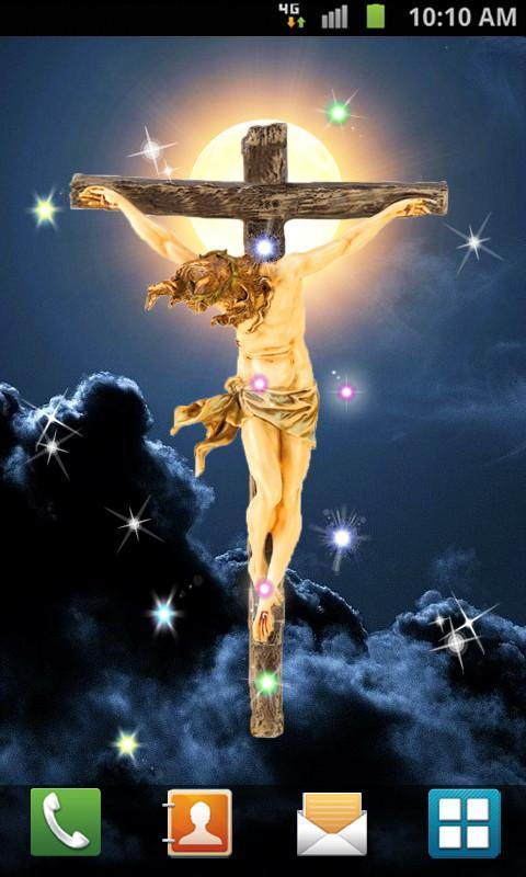 Jesus Cross Live Wallpaper Poster