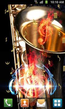 Music Live Wallpaper screenshot 5