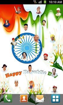 Republic Day Live Wallpaper poster