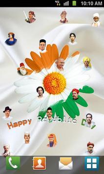 Republic Day Live Wallpaper apk screenshot