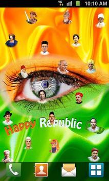 Republic Day Live Wallpaper screenshot 6