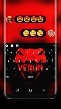 Red Snake Venum Keyboard Beast Viper poster