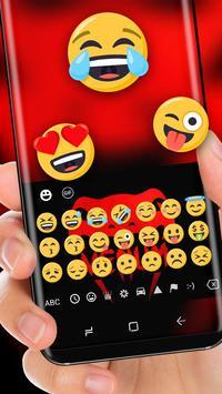 Red Snake Venum Keyboard Beast Viper apk screenshot