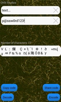 Text Encryptor apk screenshot