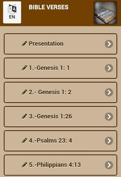 Bible verses. poster