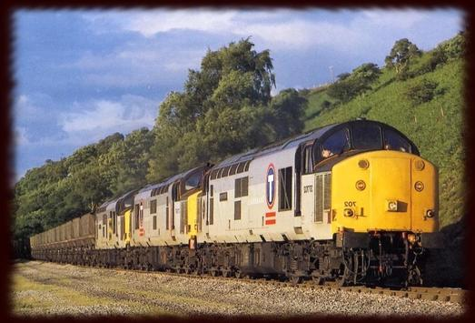 Freight Trains Wallpapers poster