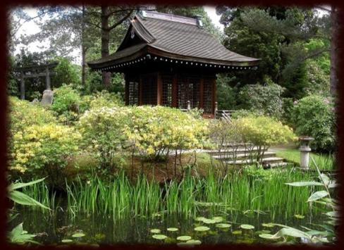 japanese gardens Wallpapers poster