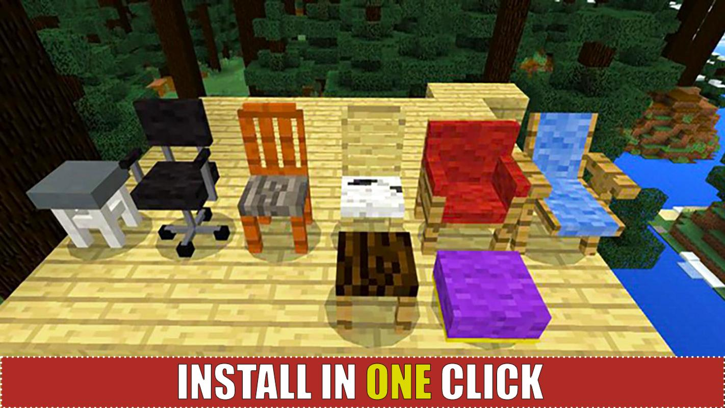 1 schermata modern houses and furniture for mcpe