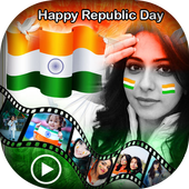 Republic Day Video Maker 2018 - 26 Jan Video Maker icon