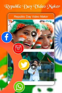 Republic Day Video Maker 2018 - 26 Jan Video Maker screenshot 4