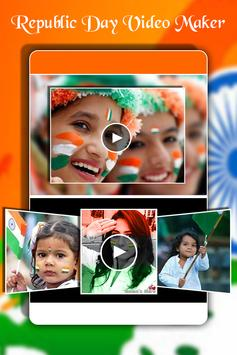 Republic Day Video Maker 2018 - 26 Jan Video Maker poster