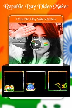 Republic Day Video Maker 2018 - 26 Jan Video Maker screenshot 1