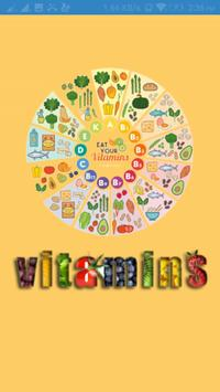 Vitamins Guide poster